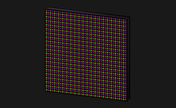 Picture of an LED panel