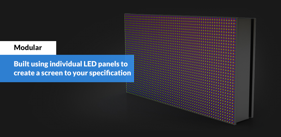 46 square meter LED screen