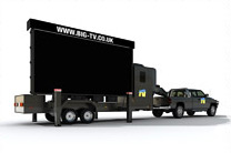16 square metre mobile LED screen